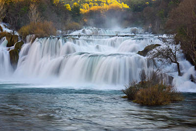 Krka Waterfalls Art Print