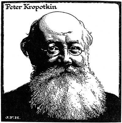 Kropotkin Drawing - Kropotkin (1842-1921) by Granger