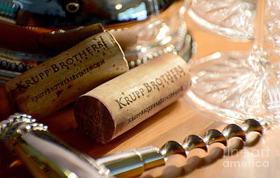 Napa Valley Photograph - Krupp Brothers Uncorked by Jon Neidert