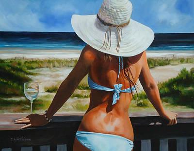 Krystal Blue Persuasion Original by Diane Hutchinson