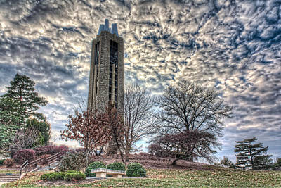 Lawrence University Photograph - Ku Campanile by Corey Cassaw