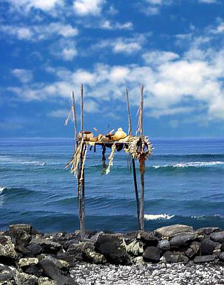 Photograph - Ku Emanu Heiau Kona by Kurt Van Wagner