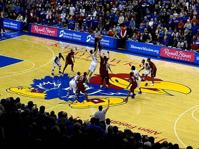 Photograph - Ku Tip Off by Keith Stokes