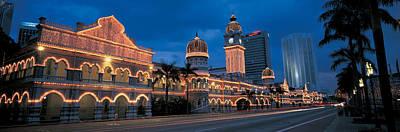 Headlight Photograph - Kuala Lumphur Malaysia by Panoramic Images