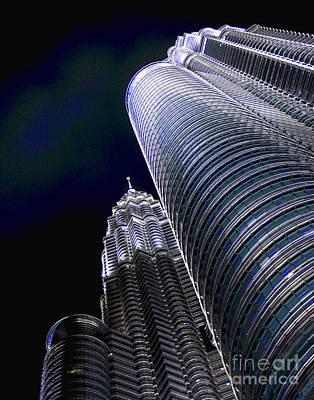 Photograph - Kuala Lumpur Brights by Larry Oskin