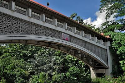 Photograph - Kuala Lumpur Pedestrian Covered Bridge by Steven Richman