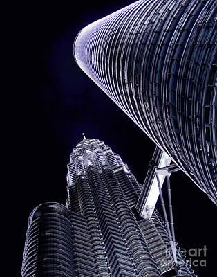 Photograph - Kuala Lumpur Sky by Larry Oskin