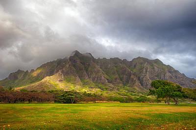 Photograph - Kualoa Massif by Dan McManus