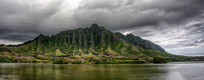 Photograph - Kualoa Panorama by Dan McManus