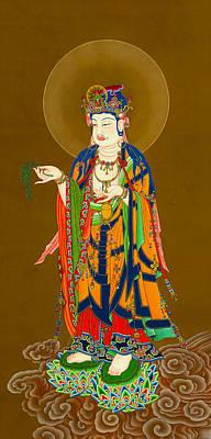 Kuan Yin Bodhisattva 1 Art Print by Lanjee Chee