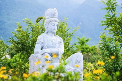 Kuan Yin Bodhisattva 2 Art Print by Lanjee Chee