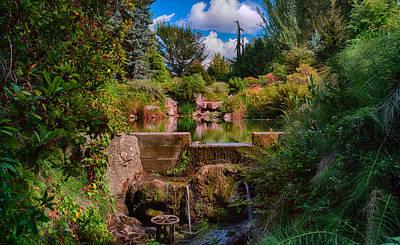 Photograph - Kubota Garden Pond by Jonah  Anderson
