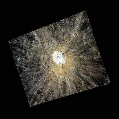 Impact Photograph - Kuiper Crater by Nasa/johns Hopkins University Applied Physics Laboratory/carnegie Institution Of Washington