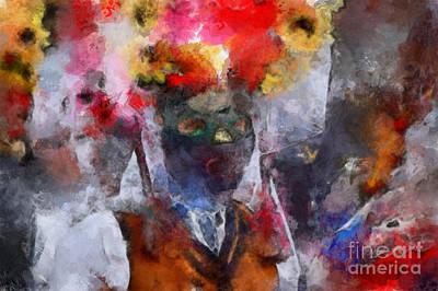Art Print featuring the painting Kuker by Georgi Dimitrov