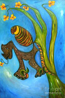 Kula And Pani's Ghost Art Print