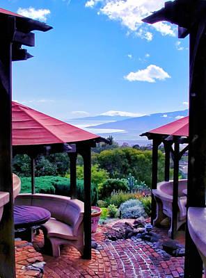 Photograph - Kula Lodge 12 by Dawn Eshelman