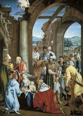 Kulmbach, Hans S�ss Von 1480-1522 Art Print