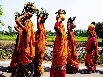 Photograph - Kumaoni Ladies by Ankeeta Bansal