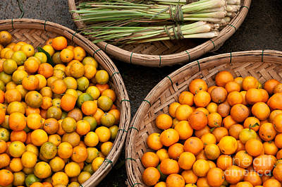 Photograph - Kumquats Lemongrass 01 by Rick Piper Photography