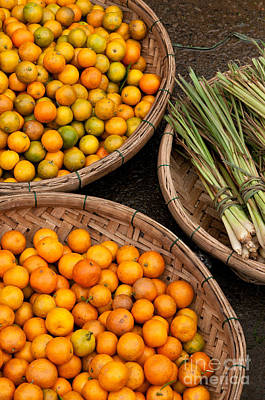 Photograph - Kumquats Lemongrass 02 by Rick Piper Photography