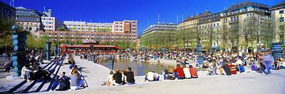 Kungstradgarden Park, Stockholm, Sweden Art Print by Panoramic Images