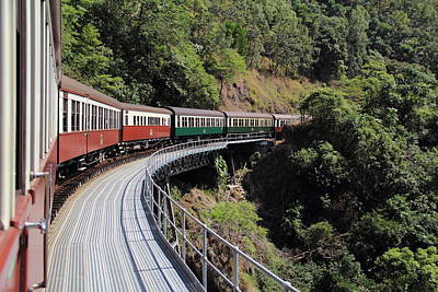Photograph - Kuranda Train by Debbie Cundy