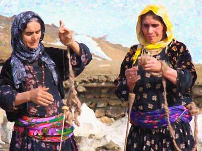 Olympic Sports - Kurdish Women by MotionAge Designs