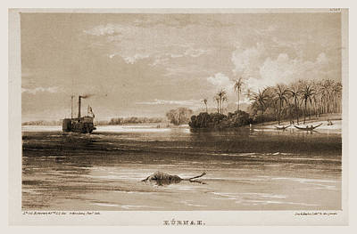 Kurnah, Narrative Of The Euphrates Expedition Carried Art Print by Litz Collection