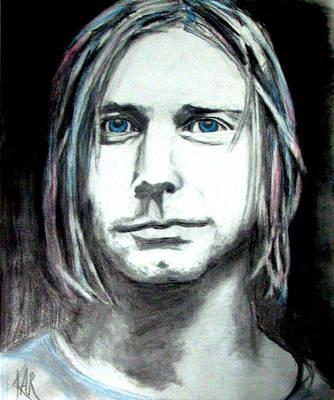 Kurt Cobain Mixed Media - Kurt Cobain by Art by Kar