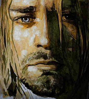 Kurt Cobain Art Print by Laur Iduc