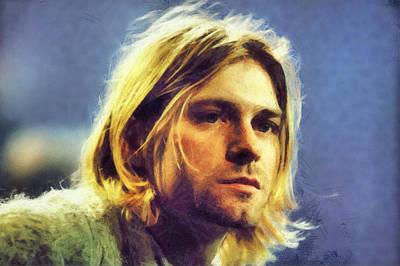 Kurt Cobain Digital Art - Kurt Cobain by Martin Deane
