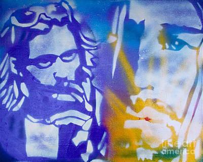 First Amendment Painting - Kurt Cobain by Tony B Conscious