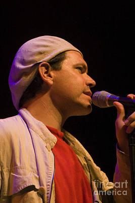 Brubeck Photograph - Kurt Elling Crooning by Craig Lovell
