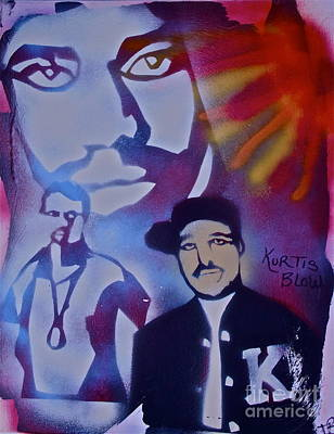 Liberal Painting - Kurtis Blow by Tony B Conscious