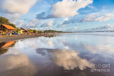 Kuta Beach In Seminyak Art Print