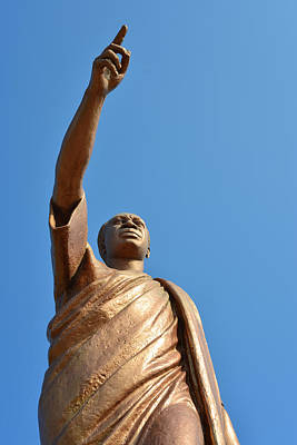 Photograph - Kwame Nkrumah by Ronda Broatch