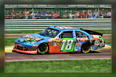 Photograph - Kyle Busch by Blake Richards
