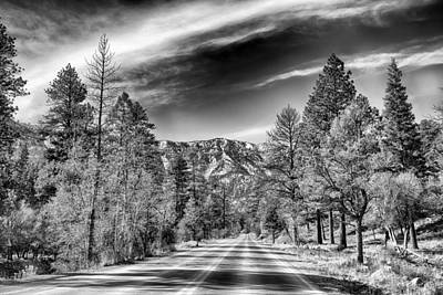 Photograph - Kyle Canyon Road by Howard Salmon