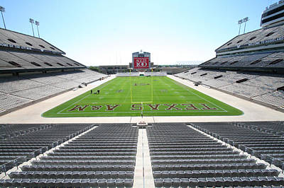 Kyle Field Art Print by Georgia Fowler