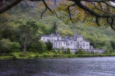Ireland Photograph - Kylemore Abbe  by Hugh Smith