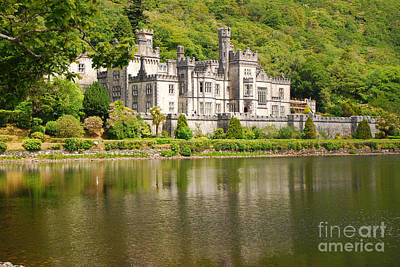 Art Print featuring the photograph Kylemore Abbey 2 by Mary Carol Story
