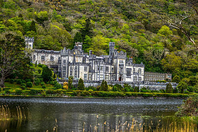 Photograph - Kylemore Abbey And Connemara Lake - Ireland by Marilyn Burton