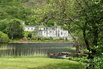 Photograph - Kylemore Abbey by Butch Lombardi