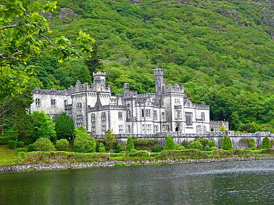 Photograph - Kylemore Abbey Close-up by Denise Mazzocco