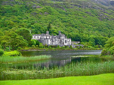 Photograph - Kylemore Abbey by Denise Mazzocco