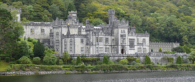 Irish Photograph - Kylemore Abbey by Mike McGlothlen