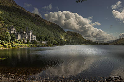 Photograph - Kylemore Abbey--- Ireland by Tim Bryan