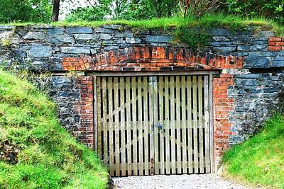 Photograph - Kylemore Gate by Charlie and Norma Brock
