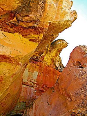 Kymoto Dragon Rock In A Crevice Along Hickman Bridge Trail In Capitol Reef National Park-utah Original