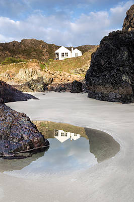 Kynance Cove Photograph - Kynance Cottages by Chris Frost